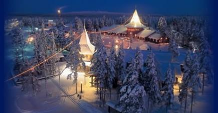 Viaggio Paese Babbo Natale.Nel Paese Di Babbo Natale Casa Di Babbo Natale Rovaniemi