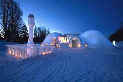 Rovaniemi Lapponia Babbo Natale.Nel Paese Di Babbo Natale Casa Di Babbo Natale Rovaniemi
